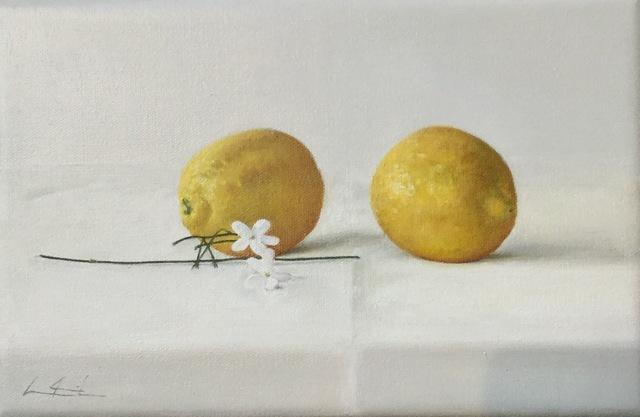 , 'Algunos limones III,' 2016, Praxis