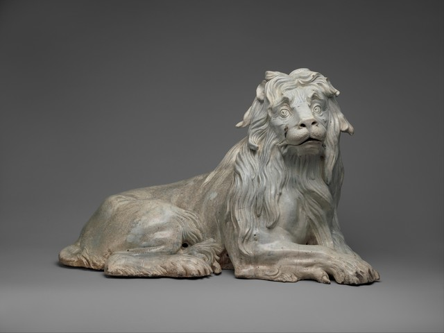Meissen Manufactory, 'Lion (one of a pair)', ca. 1732, The Metropolitan Museum of Art