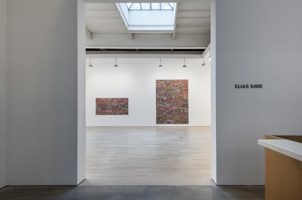 Elias Sime: Installation view 2015. Photo: Adam Reich