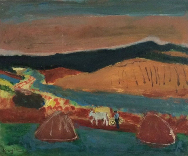 , 'Tilliers from Lyons-la-Foret,' ca. 1960, Jenna Burlingham Fine Art