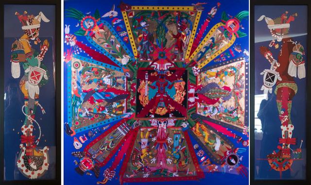 David Gremard Romero, 'Cemanahuatl (tríptico)', 2015, MAIA Contemporary