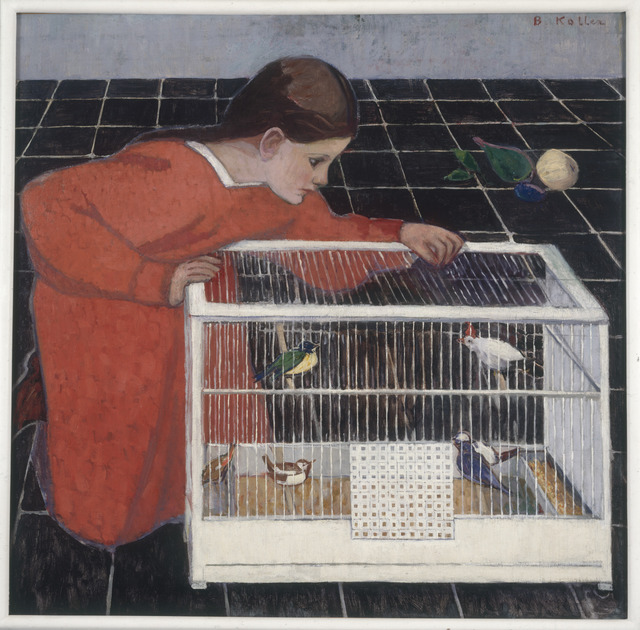 , 'Silvia Koller with a Bird Cage,' 1907-08, The National Gallery, London