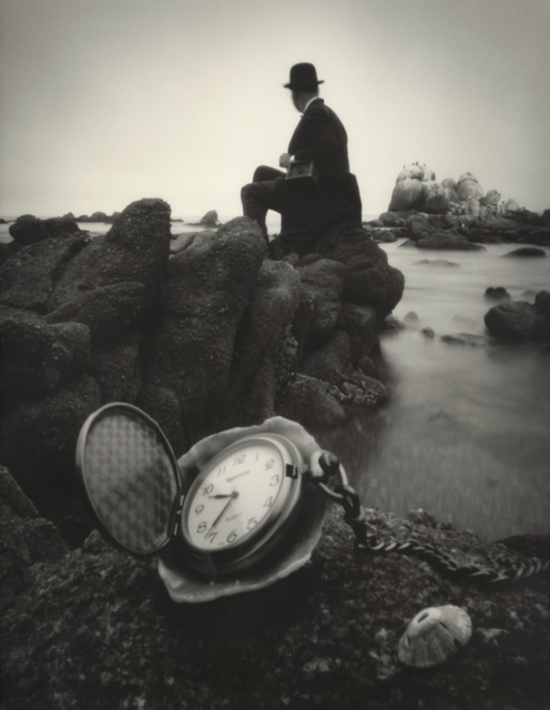 , 'Man and Pocket Watch,' 2003, Photography West Gallery