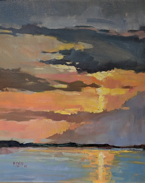 Millie Gosch, 'Late Day Beauty', 2019, Painting, Oil on Canvas, Anne Neilson Fine Art