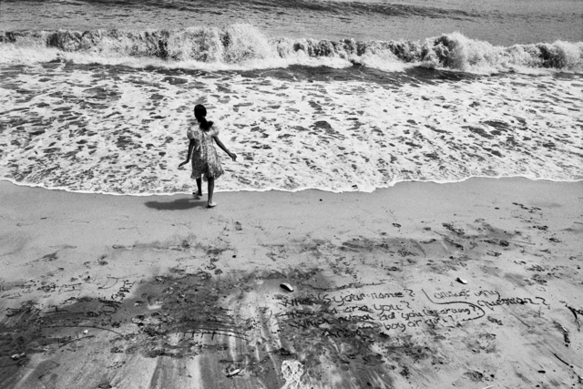 , 'Beach of Vaung Tau, formerly Cap Saint Jacques, where the majority of the boat people departed, Vietnam,' 1995, Sundaram Tagore Gallery