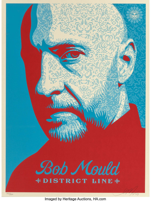Shepard Fairey (OBEY), 'Bob Mould', 2008, Heritage Auctions