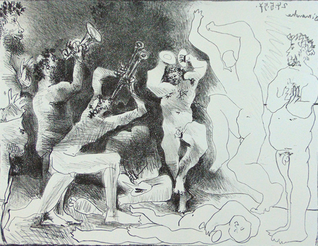 , 'The Dance of the Fauns | La Danse des Faunes,' 1957, Gilden's Art Gallery