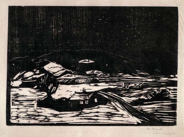 , 'Snølandskap (Winter Landscape),' 1898, John Szoke