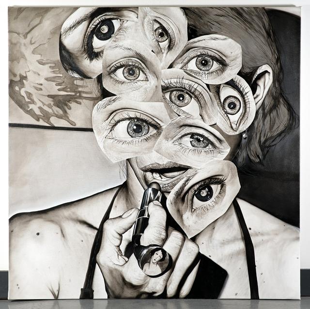 , '11 Eye Brunette Dodecahedron,' 2014, Lyle O. Reitzel