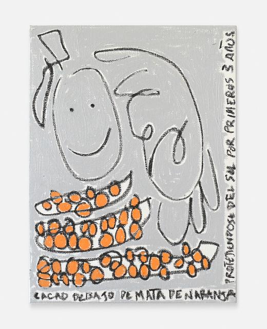 Nadia Hernández, 'Cacao, sol y naranja (Cacao, sun and orange)', 2019, Blackartprojects