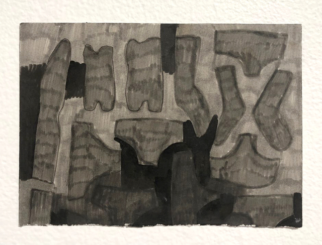 , 'Darks,' 2014, Linda Warren Projects