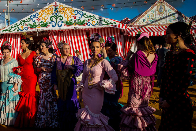 , 'Women of the Feria de Abril,' 2016, Getty Images Gallery