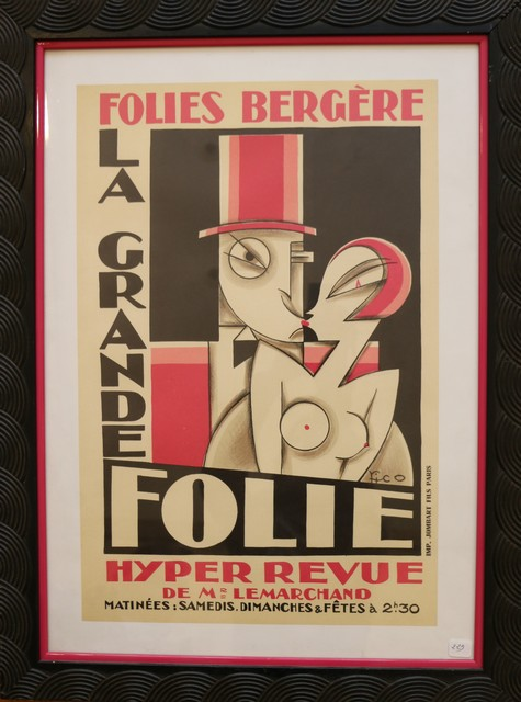 , 'Original and Rare Lithographic Poster by Pico, Art Deco, France, 1920s,' ca. 1920, Avant-Garde Gallery