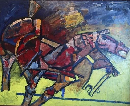 , 'Horses,' 1982, Aicon Gallery