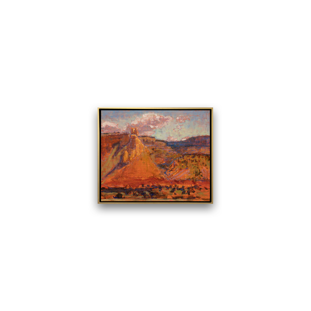 , 'GHOST RANCH OVERLOOK,' , Exhibit by Aberson
