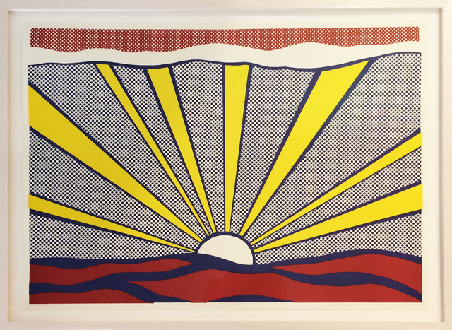 , 'Sunrise,' 1965, Galerie Kronsbein