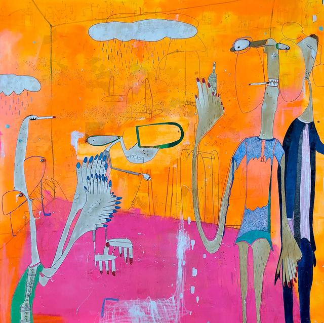 , 'Sobremesa,' 2018, Aurora Vigil-Escalera Art Gallery