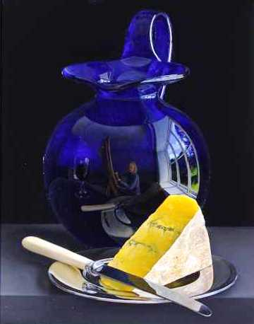 , 'Bristol Glass Blue Cheese,' , Quantum Contemporary Art