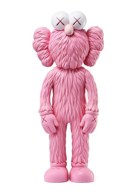 KAWS, 'KAWS Pink BFF Companion (KAWS BFF pink)', 2018 , Sculpture, Cast Resin Vinyl Figure, Lot 180