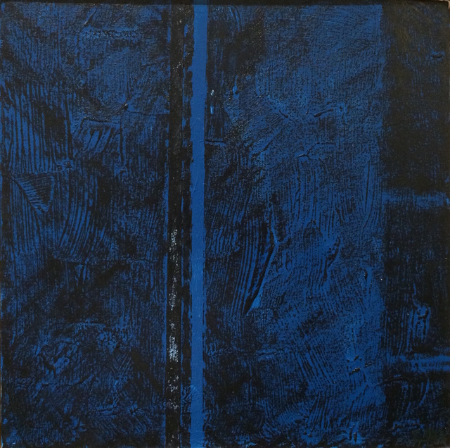 , 'Blue Square,' 2015, InLiquid