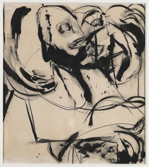 , 'Feline Image,' 1952, Debra Force Fine Art