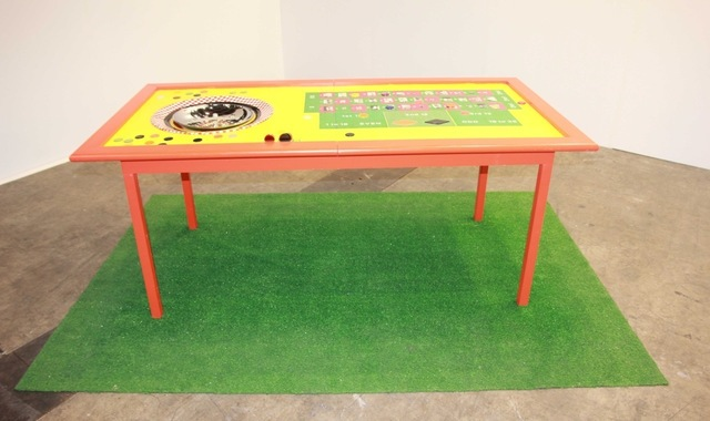 , 'Roulette Table,' 2001, Cda-Projects