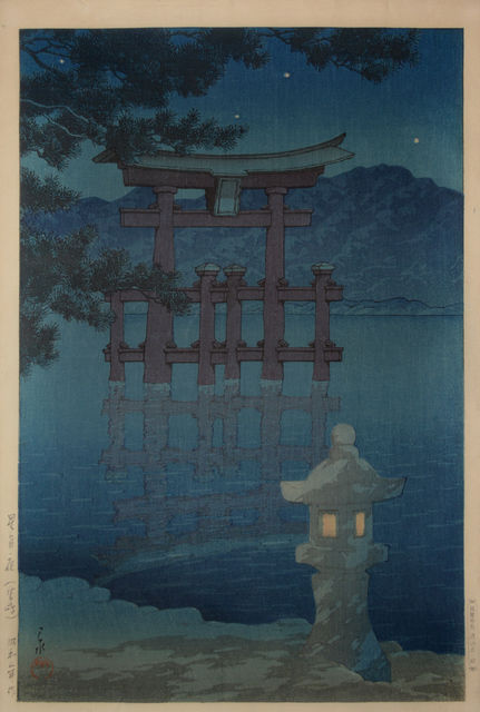 , 'Starlit Night at Miyajima,' 1928, Ronin Gallery