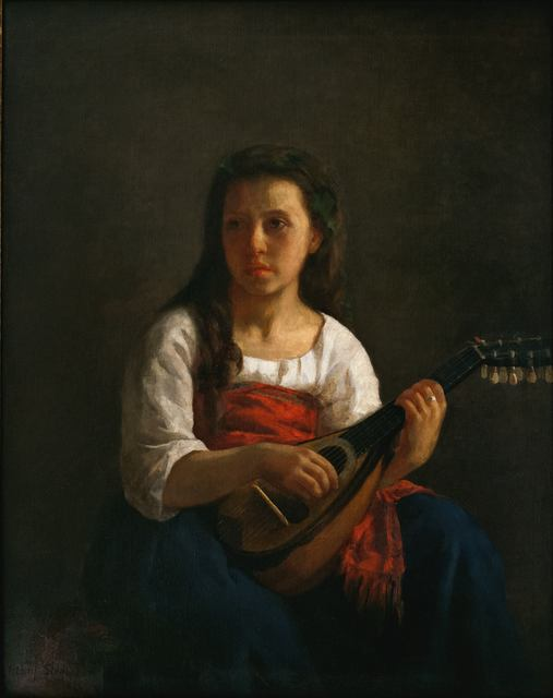 , 'The Mandolin Player,' 1868, Adelson Galleries