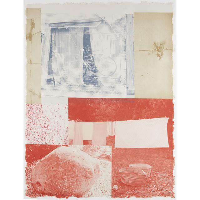 """Robert Rauschenberg, 'Rose Bay From """"Rookery Mounds""""', 1979, Freeman's"""