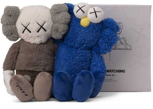 """KAWS, 'KAWS """"Best Friends Forever"""" Plush Doll', 2018, New Union Gallery"""