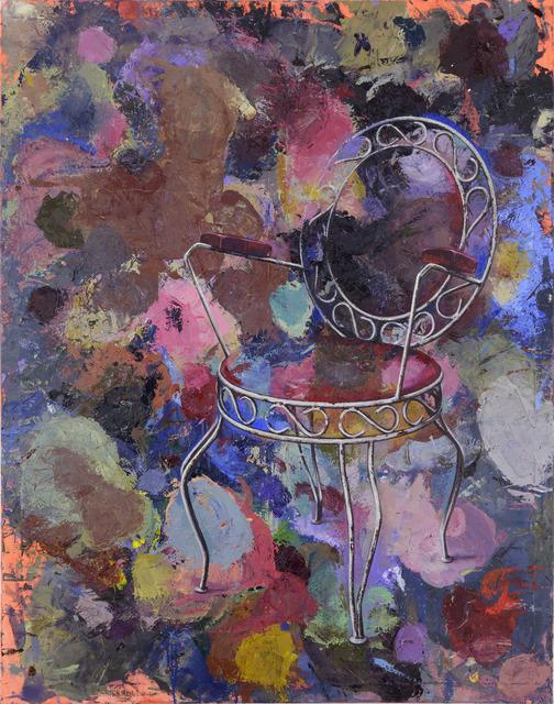 Katrin Brause a.k.a. Heichel, 'Eiscafé Florenz', 2018, Painting, Oil on canvas, Josef Filipp Galerie