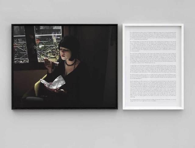, 'Écrivain, Performeuse Chloé Delaume / Writer Chloé Delaume - Prenez soin de vous,' 2007, A3 Arndt Art Agency