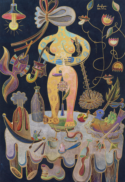 , 'Hermaphrodite's Table,' 20015, Artside Gallery