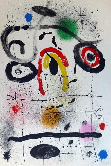 Joan Miró, 'Personnage au dessus l'Horizon (M. 390a)', 1965, Denis Bloch Fine Art