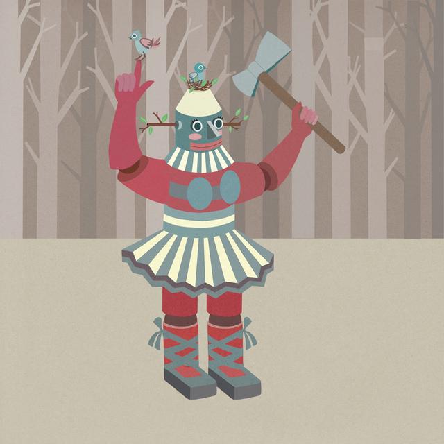 , 'Robot Lumberjack,' 2014, Galeri Mcrd