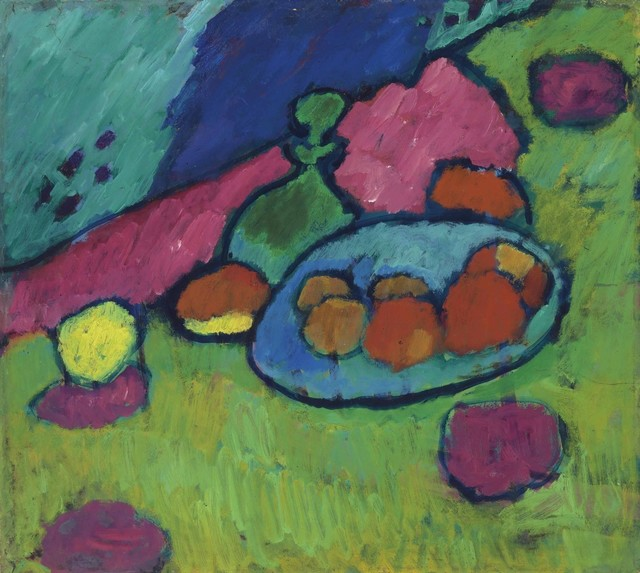 , 'Still Life with Fruit Bowl,' 1907, Galerie Thomas