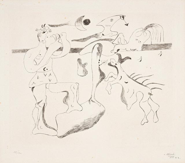 Joan Miró, 'Daphnis et Chloé', 1933, Phillips