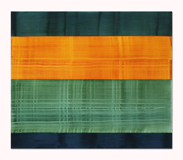 , 'Composition in Greens 7,' 2014, Sundaram Tagore Gallery