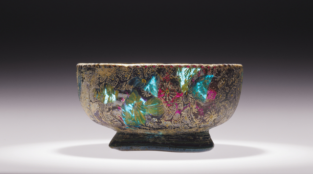 'Mosaic Glass Footed Bowl',  1st century B.C. -1st century A.D., J. Paul Getty Museum