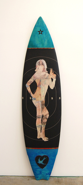 , 'Risk 6'0 Short Board,' 2014, Robert Berman Gallery