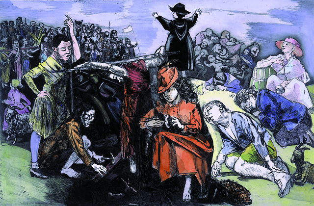 , 'The Children's Crusade - On the Hill ,' 1996-1998, Marlborough London
