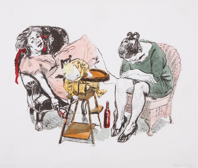 "Paula Rego, '""Feeding Time""', 2007, Veritas"