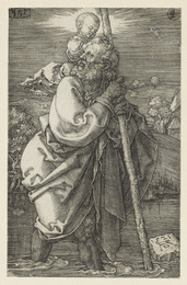 Saint Christopher facing to the Right & Saint Christopher facing to the Left