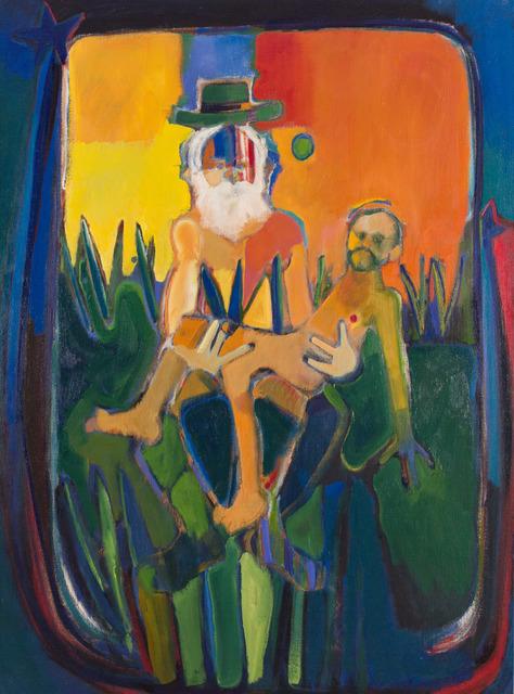 , 'Walt Whitman Holding Mathew Brady,' 2005, BlackBook Presents
