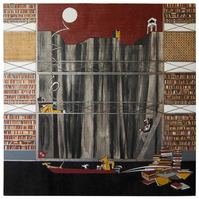 """, '""""Motor boat"""",' 2012, Krokin Gallery"""