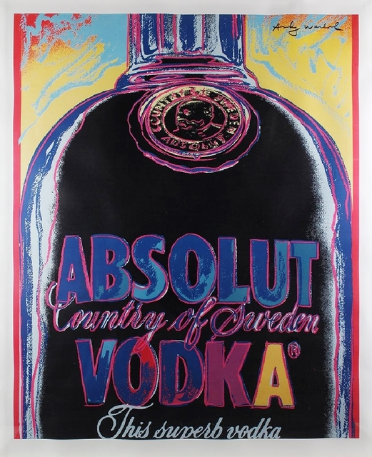 , 'ABSOLUT (Limited Edition of only 50). Provenance: Estate of Anne Cole,' 1985, Alpha 137 Gallery