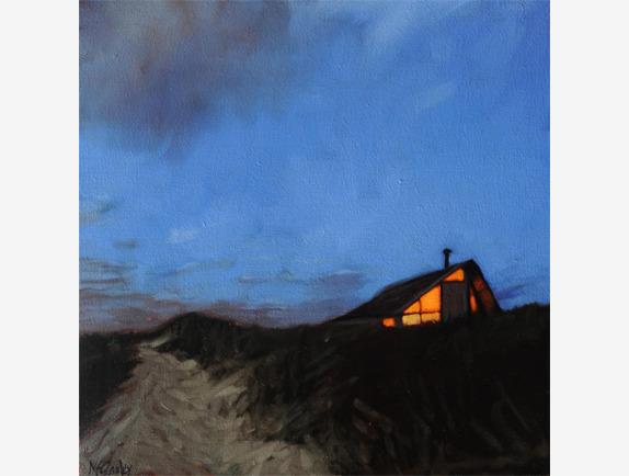 Sharon McGauley, 'Truro, Dune House', 2018, Addison Art Gallery