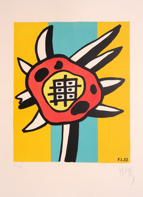 Fernand Léger, 'Le Tournesol (The Sunflower)', 1953, Denis Bloch Fine Art