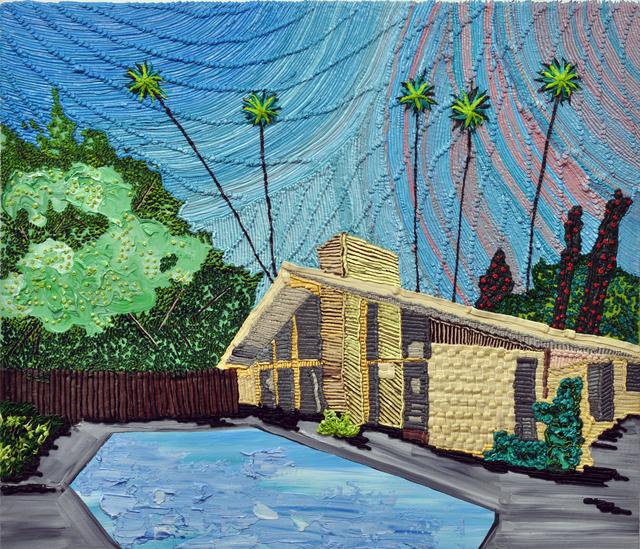 , 'Backyard Pool,' 2017, Craig Krull Gallery