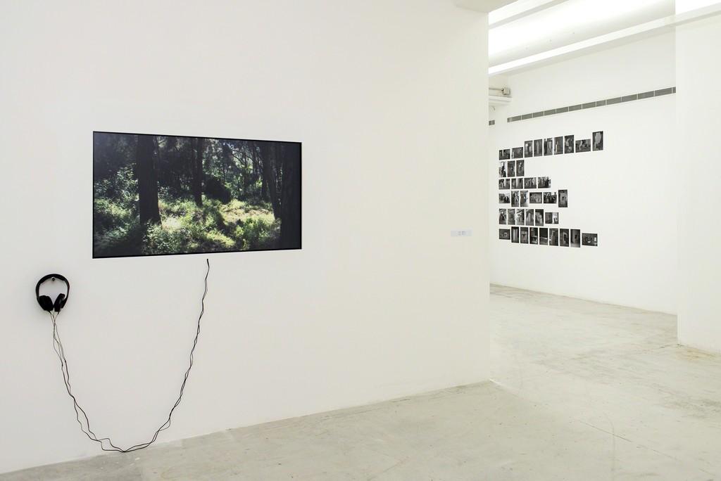 """Installation view of """"Esma'/Listen"""" at Beirut Art Center, Beirut (2016)"""